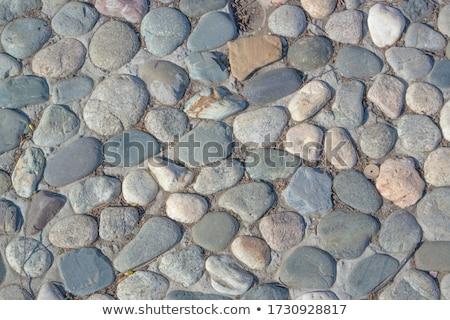 Flat rock walkway Stock photo © befehr