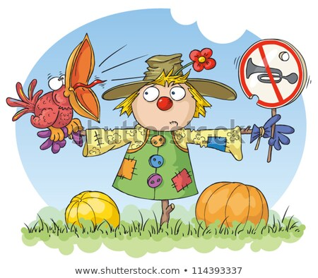 Scarecrow: Noise Prohibited stock photo © mammothis