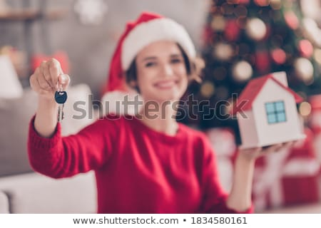 Young woman and real estate promoter Stock photo © photography33