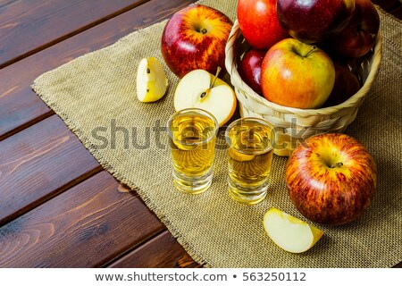 Apple Liquor Photo stock © TasiPas