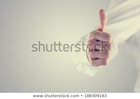 Enthusiastic man giving the a-ok sign Stock photo © photography33