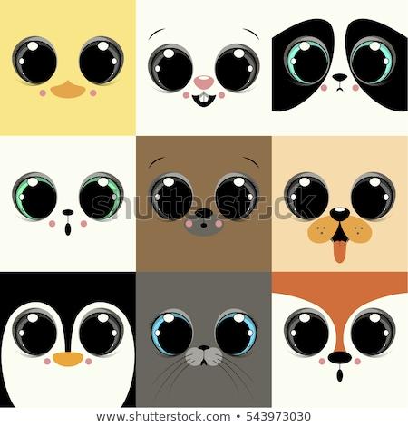 big cartoon eyes cute - photo #47