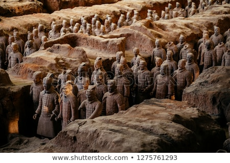Terracotta warrior Stock photo © bbbar