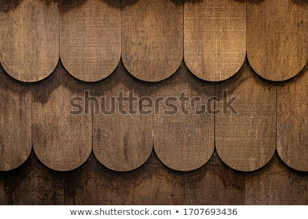 Stock photo: Old wood roof