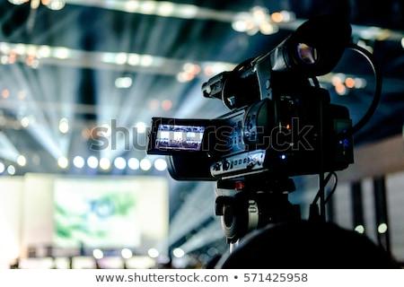 TV Camera in Studio Stock photo © filmstroem