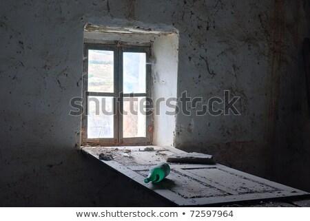 old abandoned farm house piedmont italy stock photo © rglinsky77