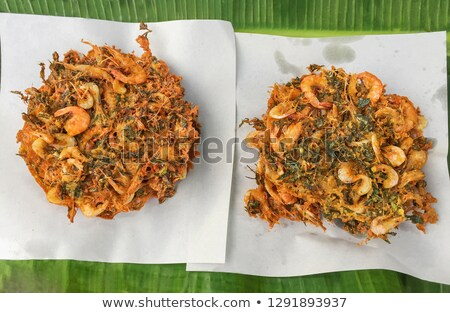shrimp fritter Stock photo © M-studio