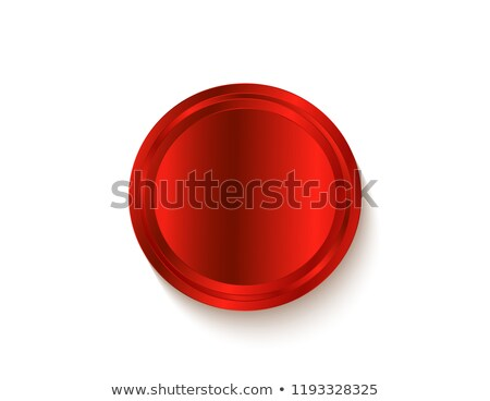 Empty red sticker. Stock photo © nav