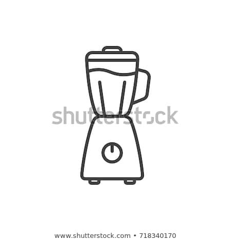 Vector icon blender Stock photo © zzve