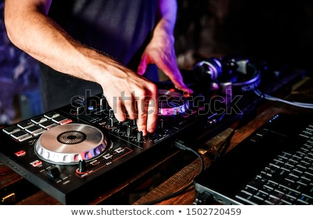 DJ turntable in nightclub Stock photo © ifeelstock