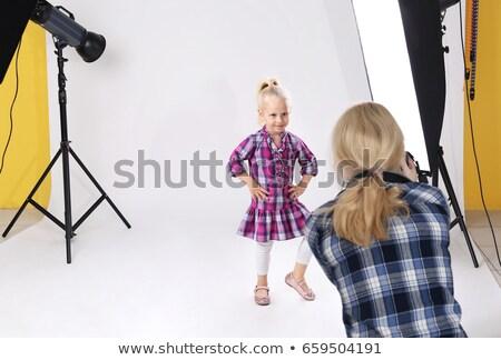肖像 カメラマン カメラ 白 Tシャツ プロ ストックフォト © wavebreak_media