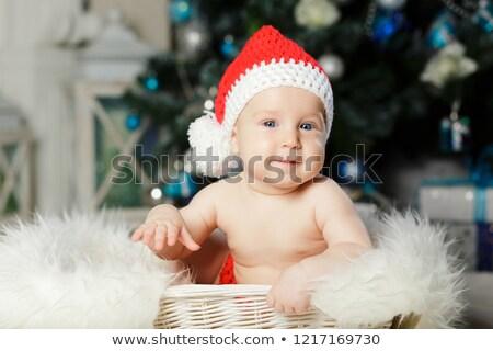 Photo stock: Enfants · Noël · costume · cadeaux · famille · fille