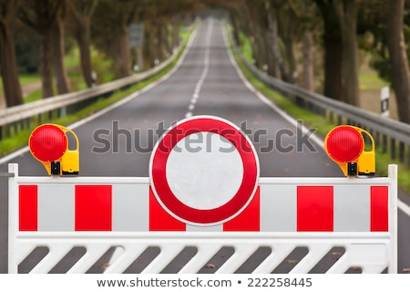 road block Stock photo © alex_grichenko