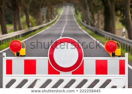 road block stock photo © alex_grichenko