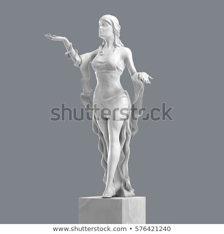 antique woman statue stock photo © photosebia
