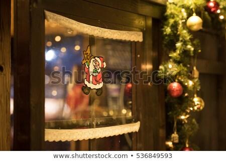 クリスマス 絞首刑 冬 ストリートビュー ウィンドウ ストックフォト © Anterovium