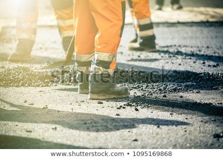 útépítés építkezés munka autópálya városi kábel Stock fotó © nenovbrothers