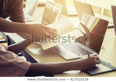 Adult Education Concept. Vintage design. Stock photo © tashatuvango