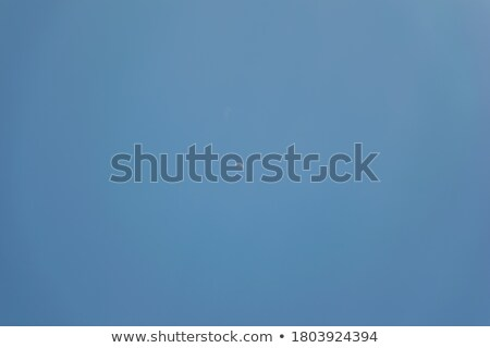 Half moon and clouds in the sky of noon Stock photo © shihina