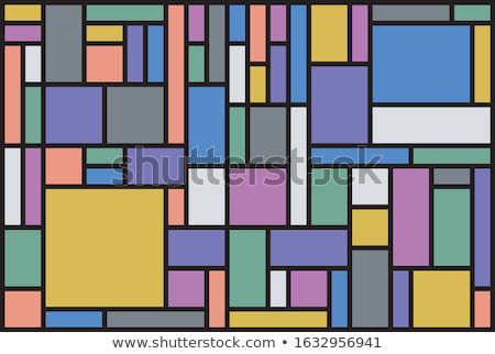 Multi-colored glass windows Stock photo © scenery1