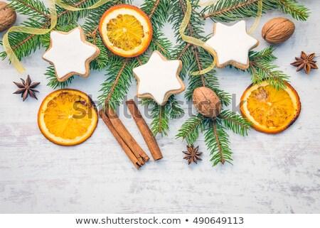 Naranja Navidad ingrediente aromático Foto stock © M-studio