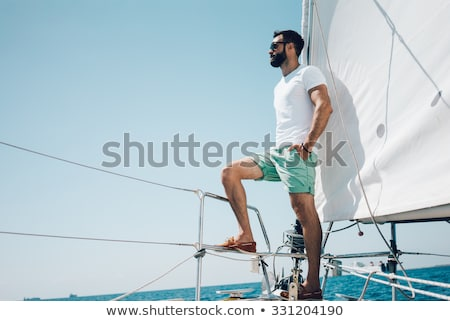 Low angle view of sailboat Stock photo © bmonteny