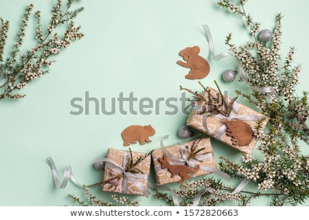 Australian Kangaroo Christmas Tree Decoration Stock photo © franky242