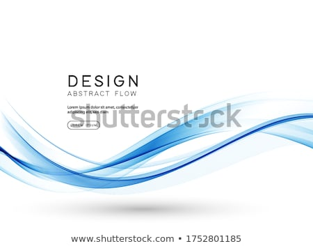 Blue Abstract Wave Background Stock photo © jul-and