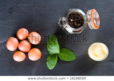 Nieuwe mint boter peper huid Stockfoto © raphotos