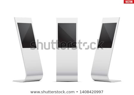 set of touch screens mockup stock photo © davidarts