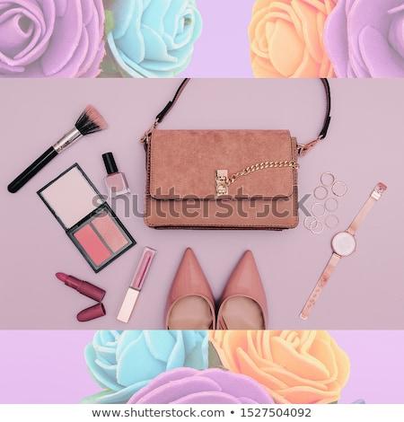 listo · fiesta · hermosa · mujer · rubia · elegante · moda - foto stock © Dave_pot