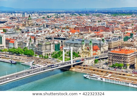 Elisabeth Bridge  of Budapest, Hungary Stock photo © Fesus