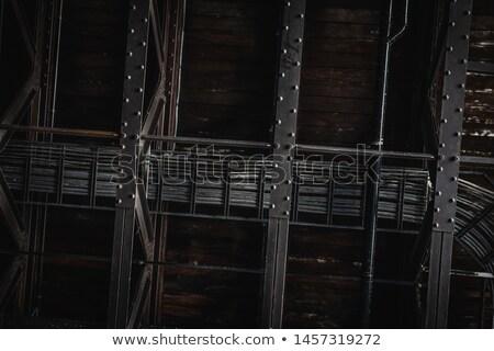 Teto estrutura branco ver construção Foto stock © wxin