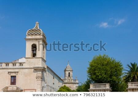 Kościoła sycylia Włochy Zdjęcia stock © Photooiasson