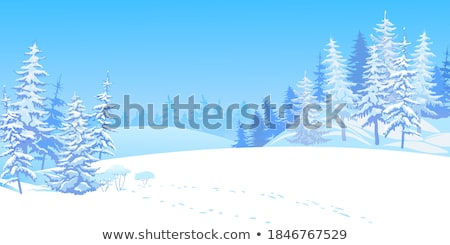 Snowdrifts in the woods  Stock photo © Kotenko