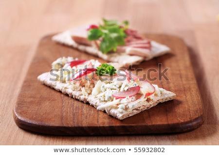 ブルーチーズ チーズ 朝食 誰も 栄養 ストックフォト © Digifoodstock