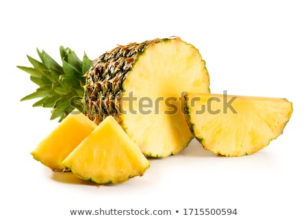 Cut pineapple Stock photo © alrisha