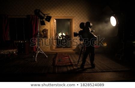 Película director película estrellas vídeo Foto stock © Genestro