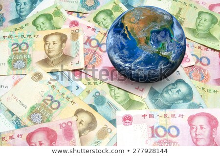 Globe and Chinese Yuan Stock photo © devon