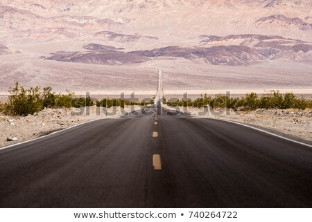 út halál völgy park kék ég égbolt Stock fotó © meinzahn