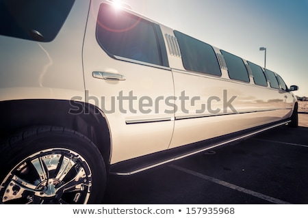 White limousine Stock photo © konradbak