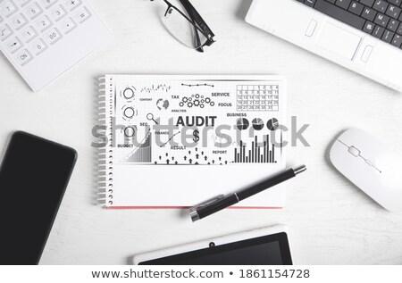 audit word on notepad stock photo © fuzzbones0