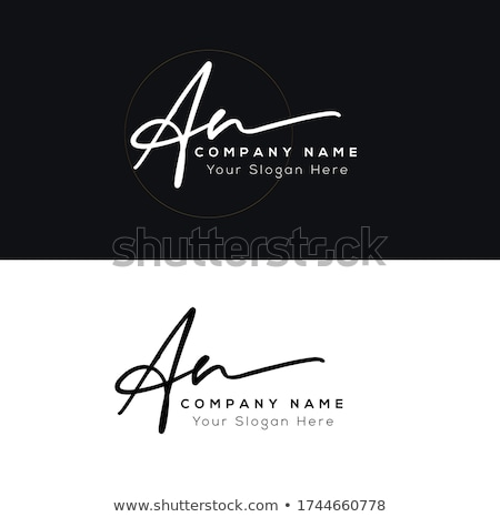 n letter logo template stock photo © ggs