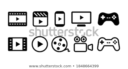 Buttons for movie directing Stock photo © bluering