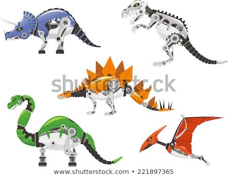 The dinosaur-robot stock photo © patsm