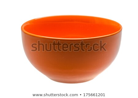 Soup in bowl front and side view Stock photo © bluering