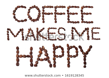 coffee and me stock photo © fisher