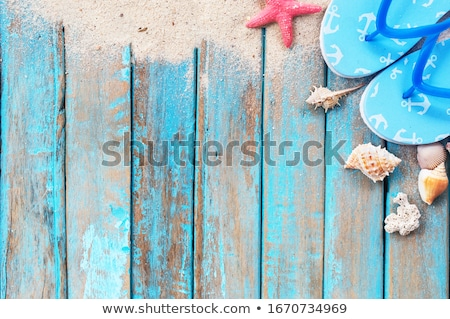 Summer Holiday Vacation Background Stock photo © Bozena_Fulawka
