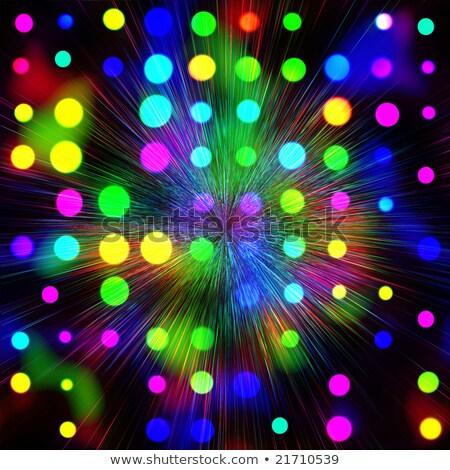 eğim · renkli · ışık · dizayn · mavi - stok fotoğraf © axstokes