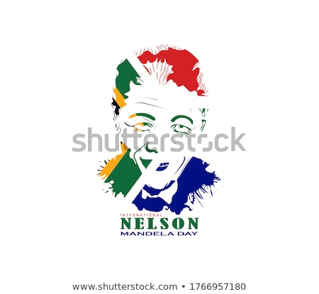 icon   Nelson  Mandela  Day Stock photo © Olena